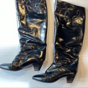 Women's Vintage Vero Cuoio Leather Boots